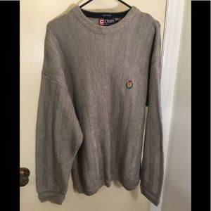 Chaps super thick knitted sweater